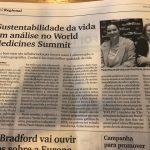 Sustentabilidade da Vida em Análise no World Medicines Summit